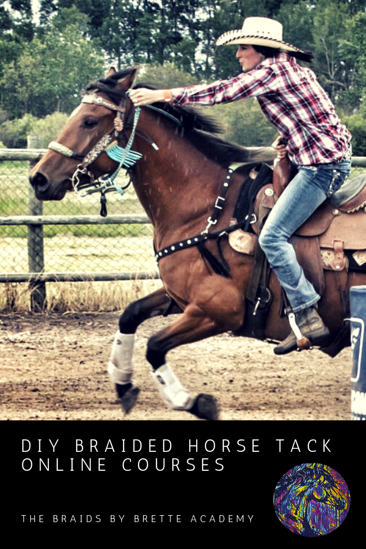 Braids By Brette Academy Diy Braided Horse Tack Online Courses