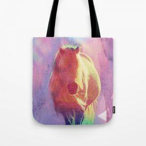 Free Spirit Horse Tote Bag